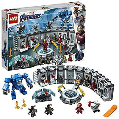[Prime] Jeu de construction Lego Marvel Super Heroes 76125 - La salle des armures d'Iron Man