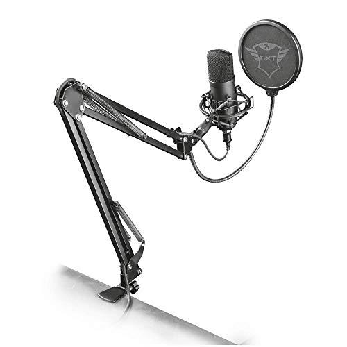 [Prime] Microphone Gaming / Streaming Trust Gaming Emita Plus Studio USB