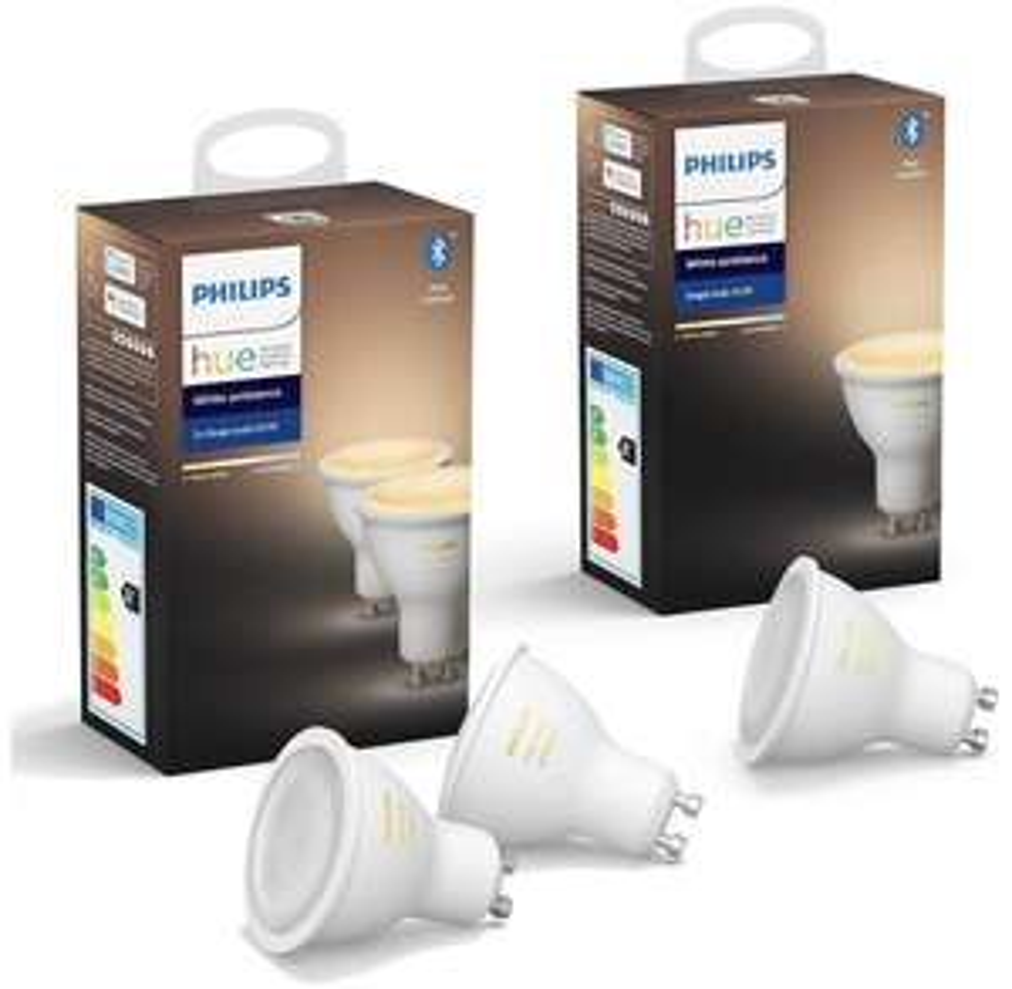 [Prime] Pack de 3 ampoules Philips Hue GU10 White Ambiance