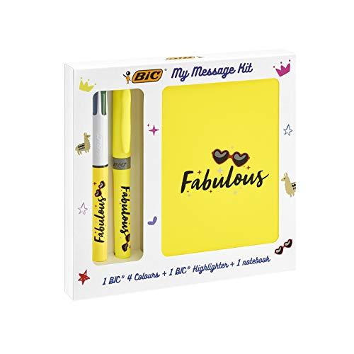 [Prime] Kit de Papeterie - BIC My Message Kit Fabulous