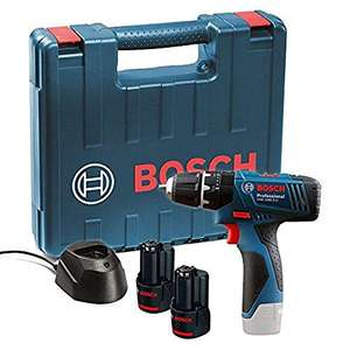 [Prime UK] Perceuse Bosch Professional GSB 120 Li + 2 Batteries 1.5ah + Chargeur + Boite