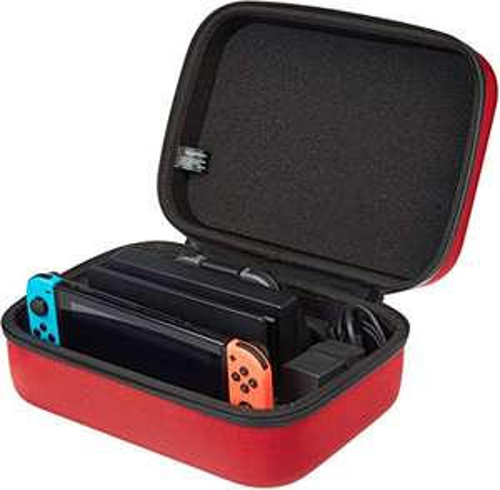 [Prime] Étui de rangement et de transport AmazonBasics pour Nintendo Switch rouge