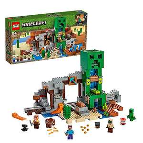 [Primes] Jeu de construction Lego Minecraft La mine du Creeper (21155)