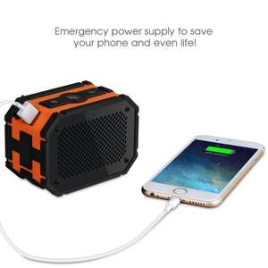 Enceinte Bluetooth Waterproof Mpow Armor - 1000 mAh