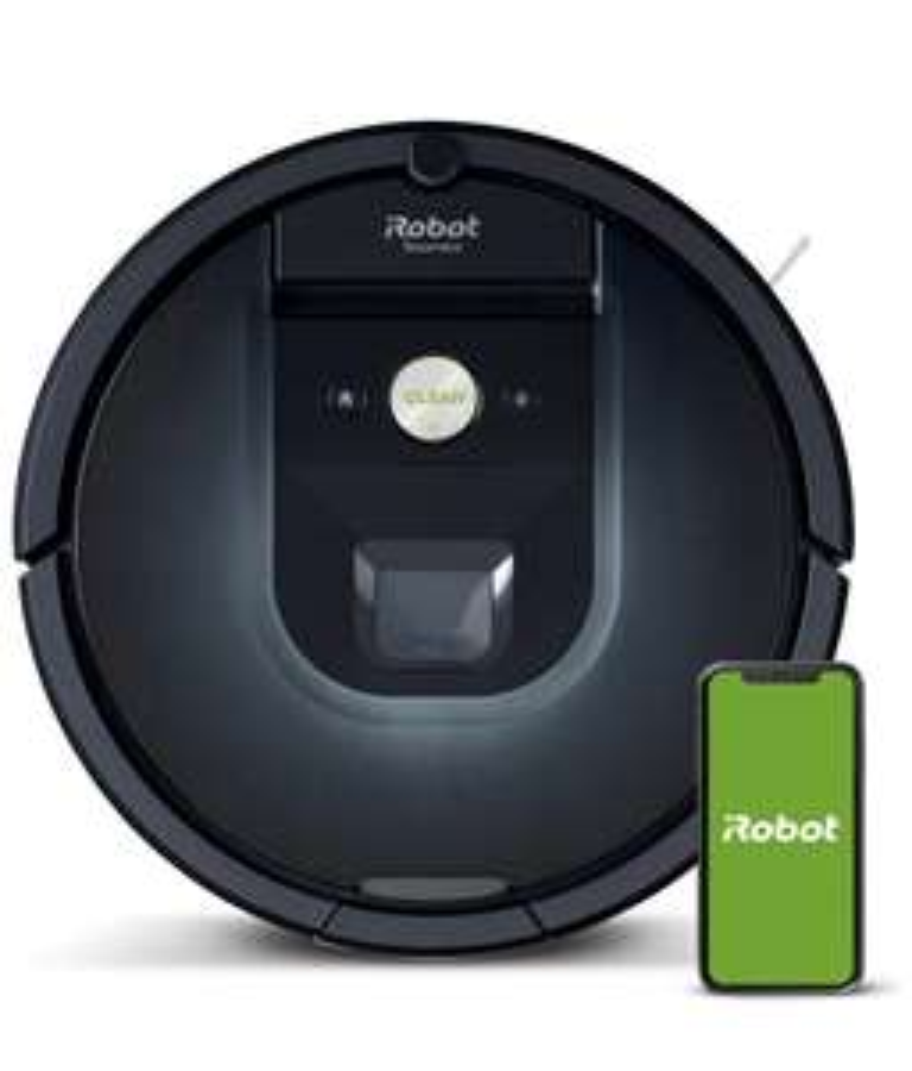 [Prime] Aspirateur robot iRobot Roomba 981 - Jusqu'à 120min, Cartographie, Navigation iAdapt, Poils d'animaux