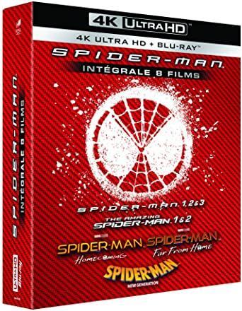 [Prime] Coffret Blu-ray 4K Spiderman - Intégrale 8 Films