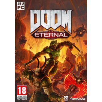 Doom Eternal sur PC + Steelbook offert (Clé Bethesda)