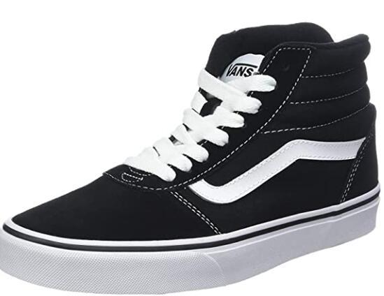 [Prime] Sneakers Vans Ward Hi Suede/Canvas - Tailles 38.5 à 50