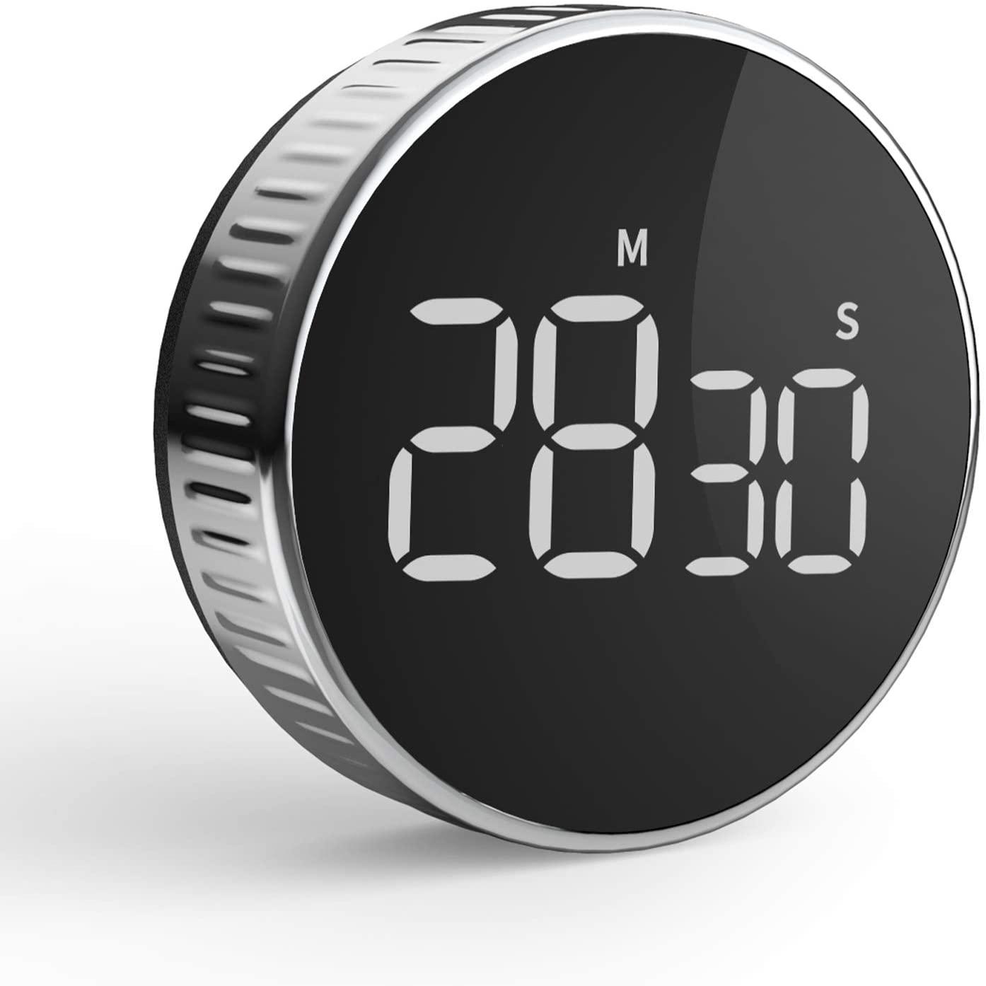 [Prime] Compte minutes / Minuteur de Cuisine LCD aimanté Hommini (Vendeur tiers)
