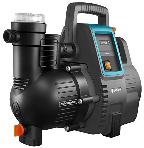 [Prime] Station de pompage Gardena 4000/5E - Pompe d'eau domestique et d'arrosage, Débit de 4 000 l/h, silencieuse