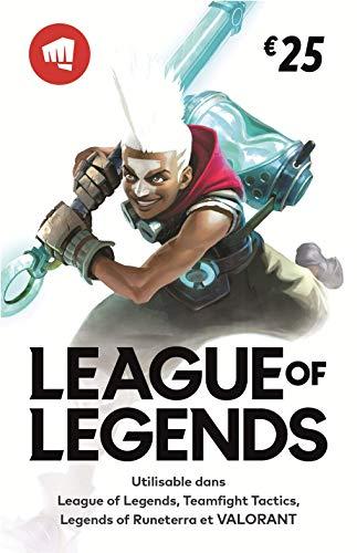 [Prime] 20% de remise sur les Cartes cadeaux Riot Points (League of legend, TFT ,Valorant,LoRuneterra - Dématérialisé)