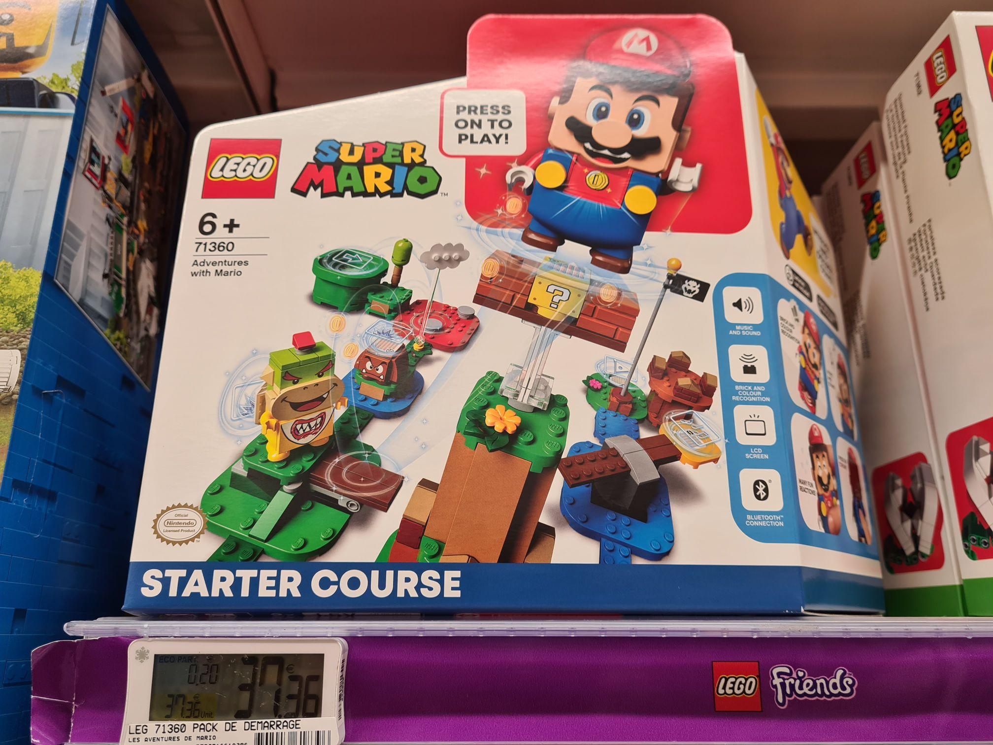 Jouet Lego Super Mario Starter Course - Aubiere Plein Sud (63)