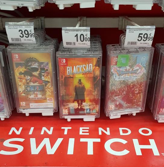 Blacksad Edition Limitée sur Nintendo Switch - Aubagne (13)