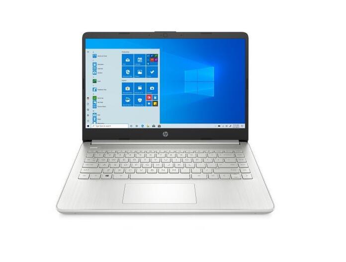 """PC Portable 14"""" HP 14s-fq0059nf - Ryzen 7 4700U, 16 Go RAM, 512 Go SSD, Windows 10, Argent (+ 79.96€ sur le compte Adhérents)"""