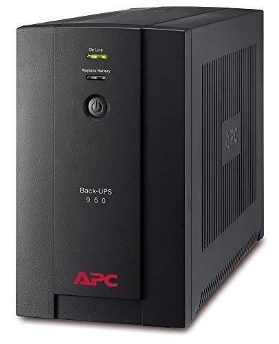 Onduleur APC Back-UPS BX 950 - 950VA, BX950U-FR - AVR - 4 Prises FR, USB, Logiciel d'arrêt
