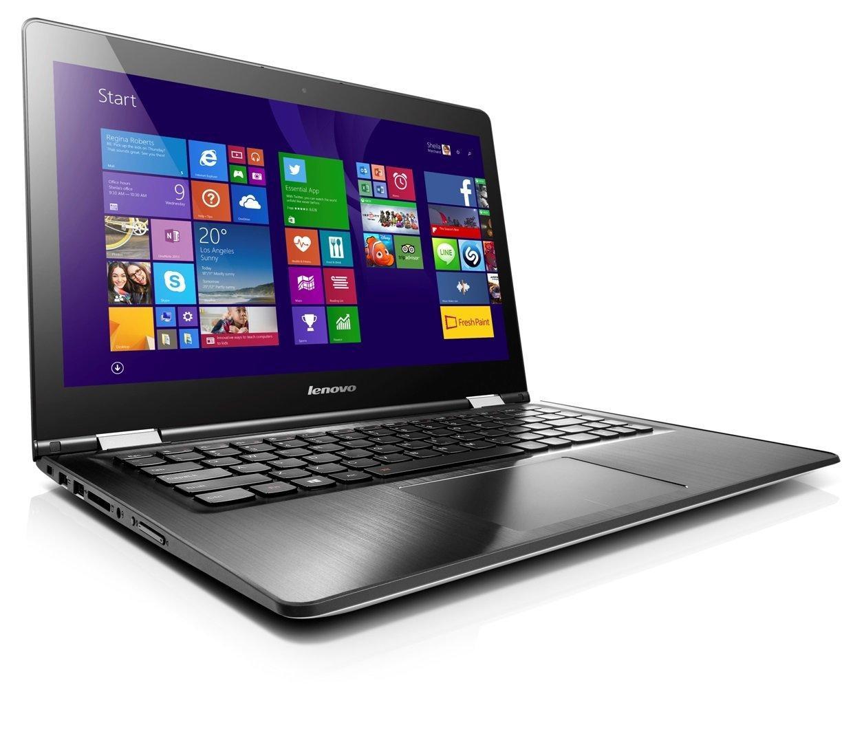 """PC portable 14"""" HD Hybride / Tactile Lenovo Yoga 500 14 Blanc (i3, 4 Go de ram, 500 Go HDD, Windows 10)"""