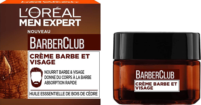 [Prime] Crème Nourrissante Barbe/Visage L'Oréal Paris Men Expert Barber Club - 50 ml