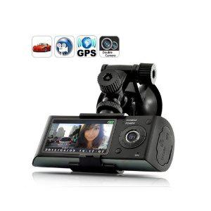 Dashcam Caméra boite noire pour voiture avec GPS et G-Sensor