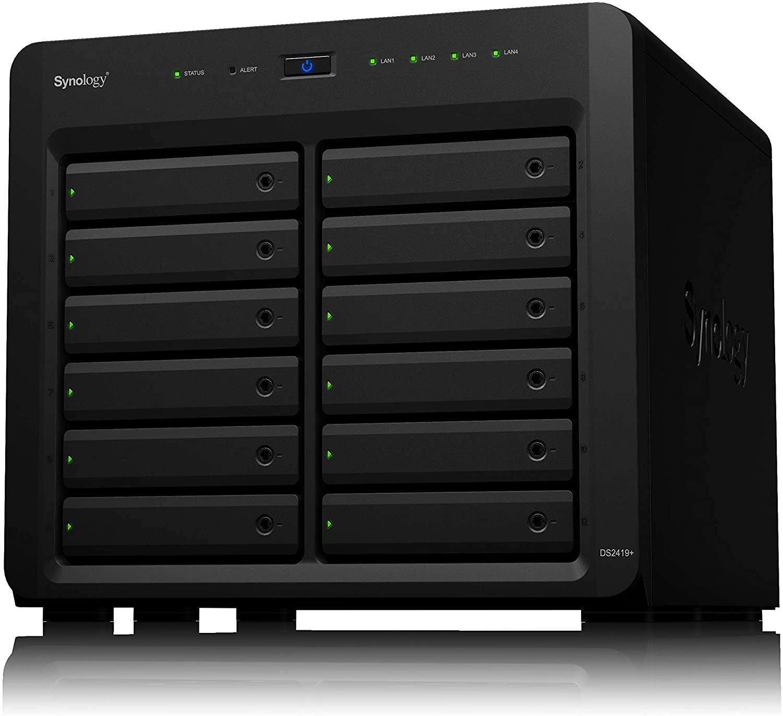 Serveur de stockage NAS Synology DiskStation DS2419+ (12 baies, sans stockage)