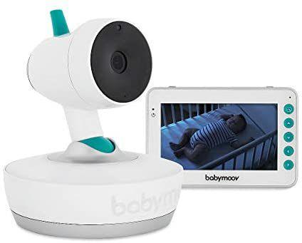 [Prime] Babyphone vidéo motorisé Babymoov Yoo-Moov 360°