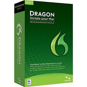 "Nuance Dragon Dictate 3 ""Mac"" avec Micro casque USB"