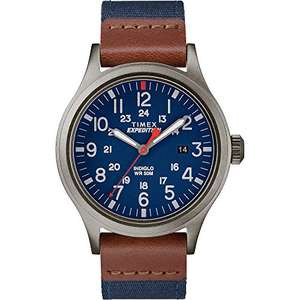 [Prime] Montre quartz Timex Expedition Scout - Bleu