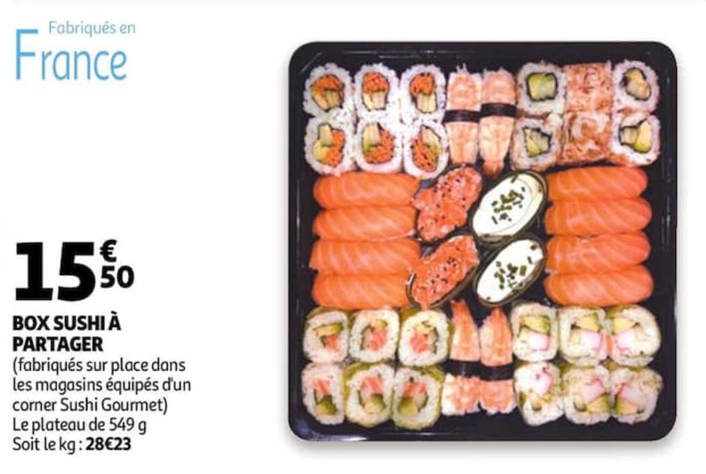 Box Sushi à Partager