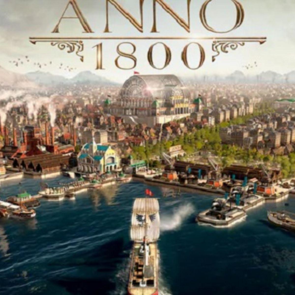 Anno 1800 sur PC (dématérialisé, Uplay)