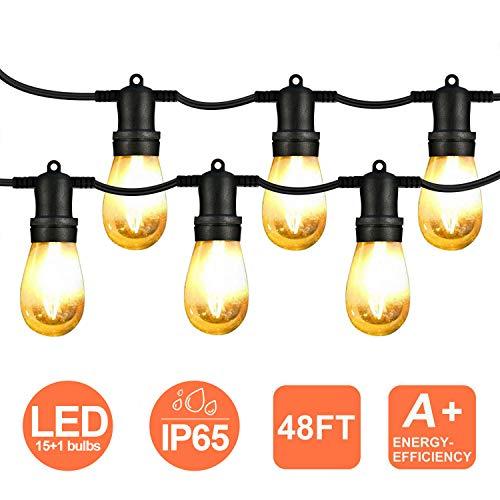 [Prime] Guirlande lumineuse extérieur LED - 15m (Vendeur tiers)