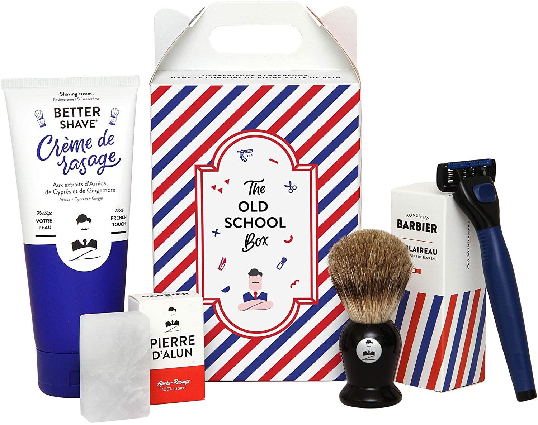 [Prime] Coffret Cadeau Monsieur Barbier Barbe Old School pour Homme