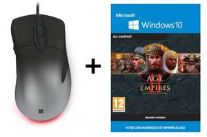 Souris filaire Microsoft Intellimouse Pro + Age of Empires 2 Definitive Edition