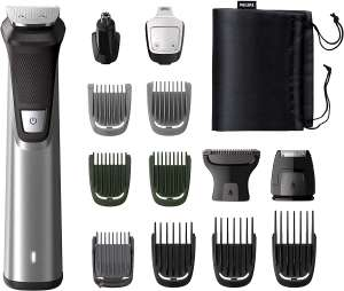 [Prime] Tondeuse à barbe & cheveux Philips Multigroom Series 7000 MG7745/15 - avec 8 sabots et accessoires