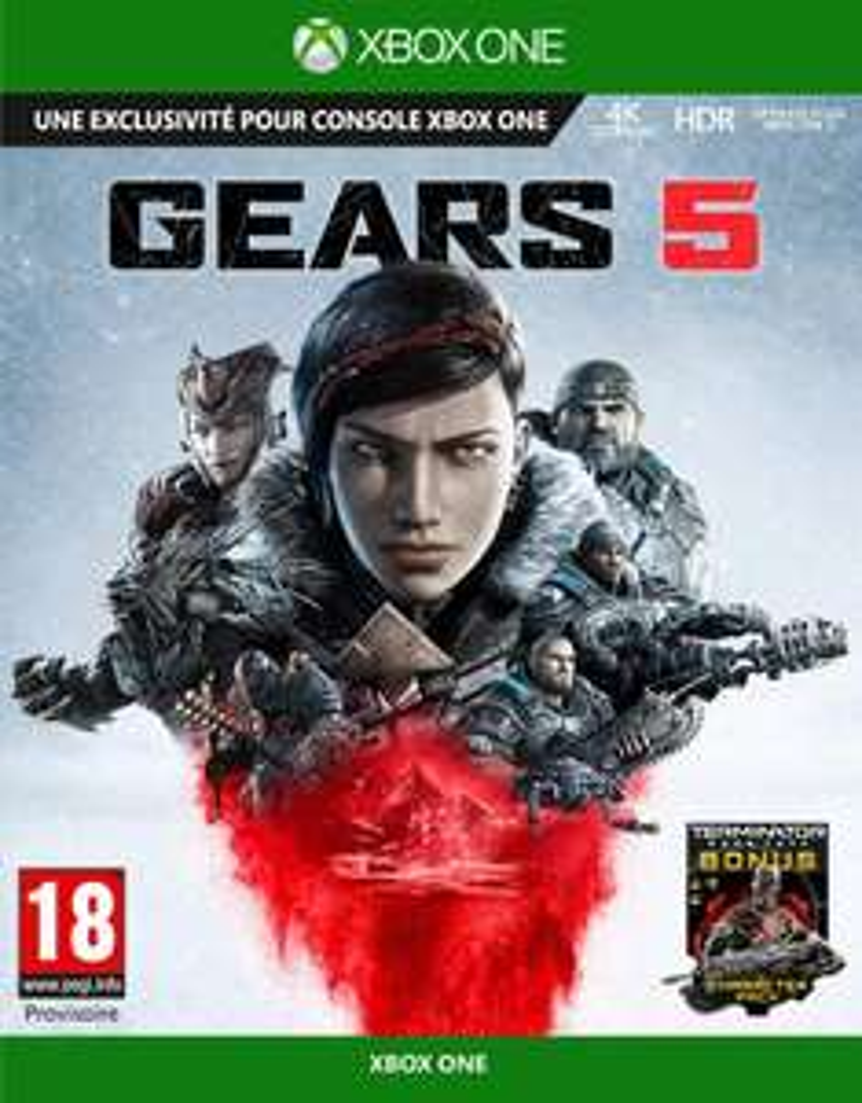 [Prime] Jeu Gears 5 sur Xbox One