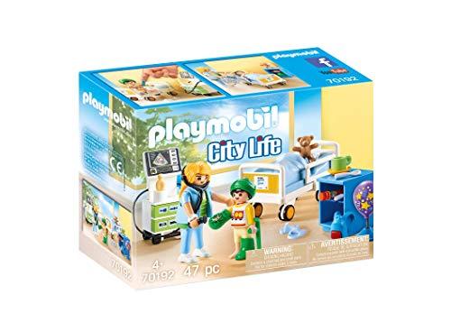 Jouet Playmobil City Life (70192) - Chambre d'Hôpital pour Enfant