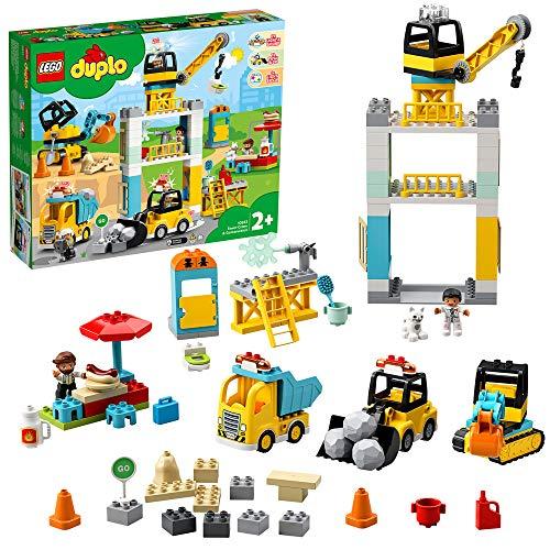 [Prime] Jeu de Construction Lego Duplo La Grue et Les engins de Construction Duplo (10933)