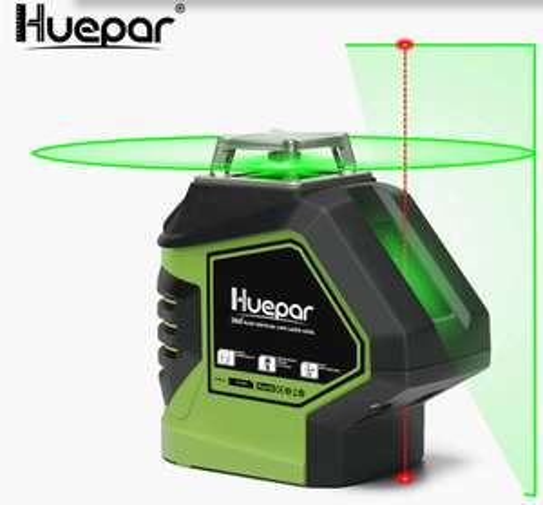 Niveau Laser Vert Huepar 621CG