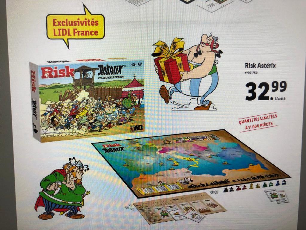 Jeu de société Risk Asterix