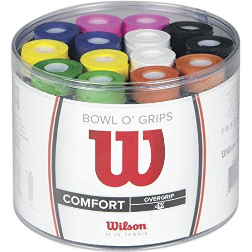 [Prime] Lot de 50 Surgrips Wilson WRZ404300 pour raquettes de tennis ou badminton