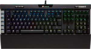 Clavier filaire Corsair Gaming K95 RGB Platinum MX Brown
