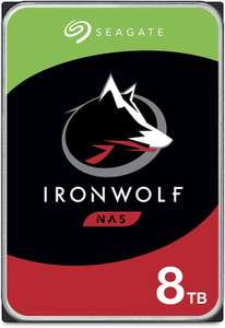 """Disque dur interne 3.5"""" Seagate IronWolf (ST8000VN004) 8 To - 7200 tr/min, 256Mo"""