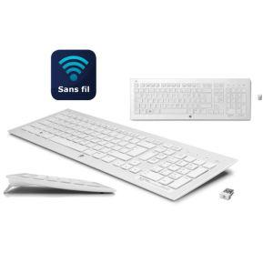 Clavier sans fil HP K5510 Blanc