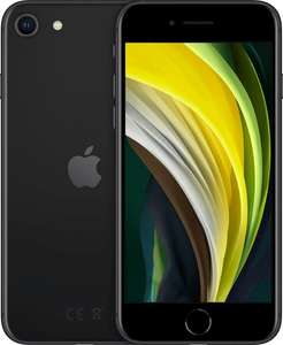"Smartphone 4.7"" Apple iPhone SE (2020) - 64 Go, Noir (369.99€ avec le code RAKUTEN30 + 18€ en Rakuten Points)"