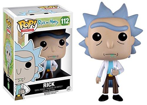 Sélection de Figurines Rick et Morty en promotion - Ex : Rick (Vendeur tiers)