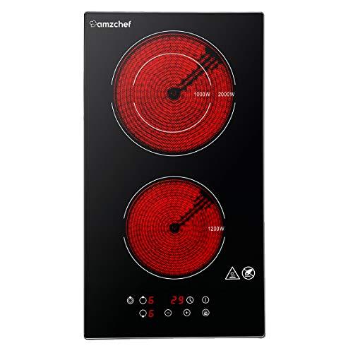 [Prime] Table de cuisson vitrocéramique portable Amzchef - 2000W (Vendeur tiers)