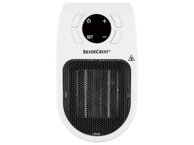 Radiateur soufflant avec prise de courant SilverCrest - 600 W