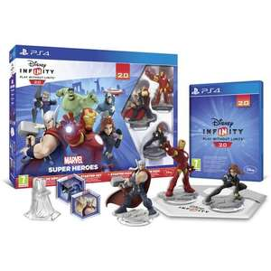 Starter Pack Disney Infinity 2.0 Marvel PS4 & Xbox 360