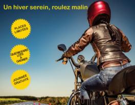 Stage Moto toutes cylindrées Maniabilité et trajectoire, un hiver serein, roulez malin Gratuit - Toulouse (31)