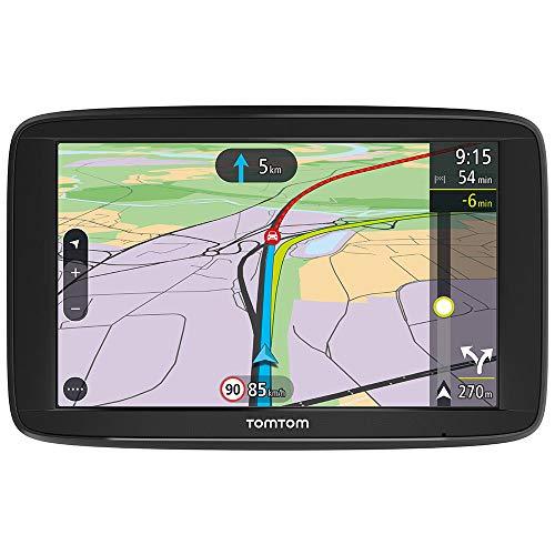 "[Prime] GPS Voiture 6"" TomTom VIA 62 - Cartographie Europe 49, Trafic Via Smartphone, Appel Mains-Libres"