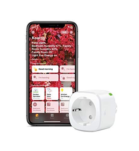 [Prime] Prise intelligente avec compteur de consommation Eve Energy (compatible Apple HomeKit)
