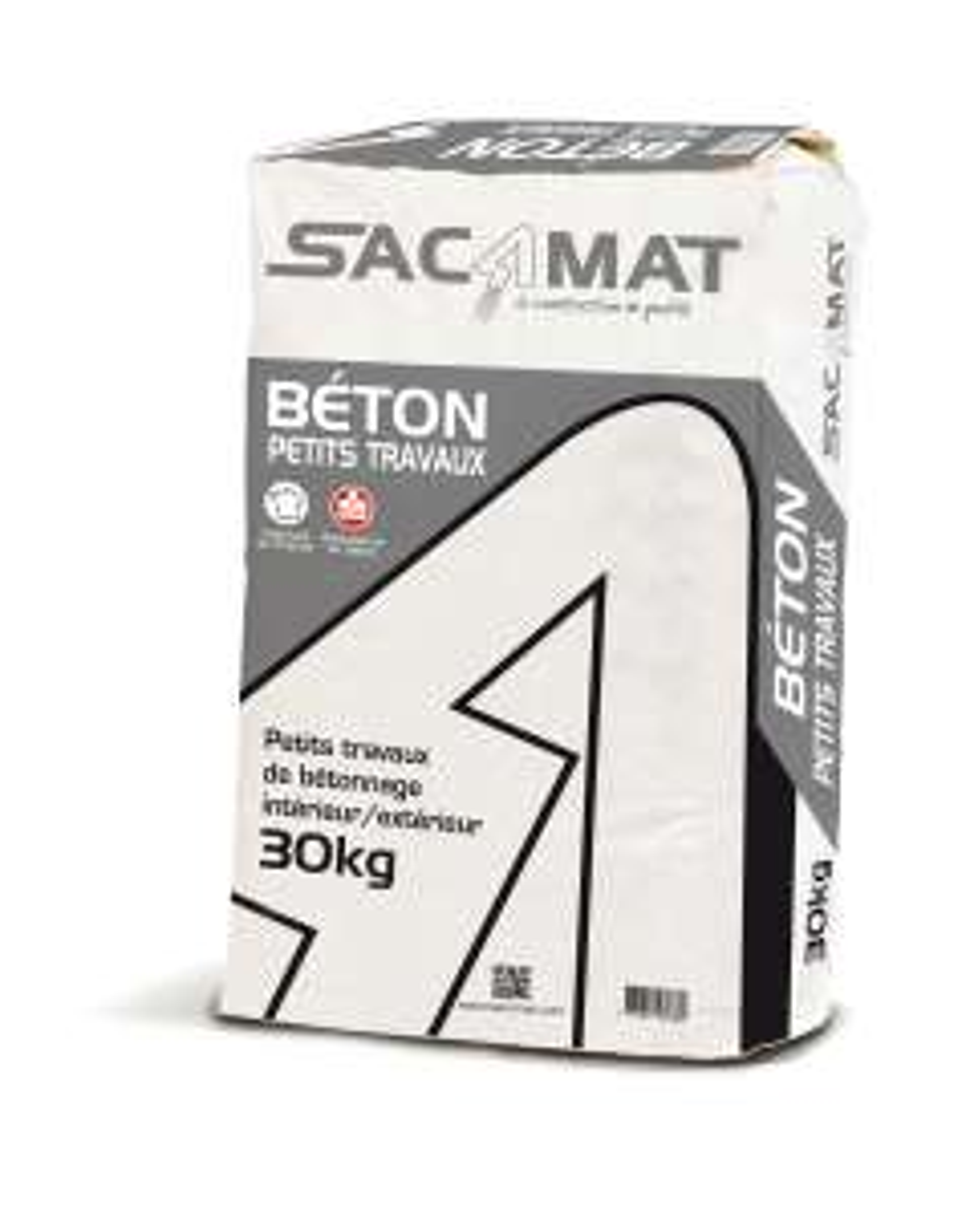 Béton prêt emploi Sacamat - 30 kg